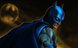 Preview wallpaper Batman, superhero, art picture