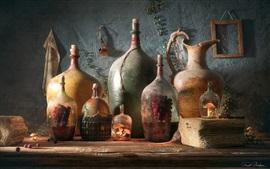 Preview wallpaper Bottles of Life