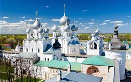 Preview wallpaper Church, temple, Rostov, Russia