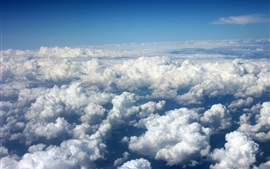 Preview wallpaper Clouds sea, sky