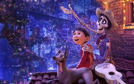 Aperçu fond d'écran Coco, 2017 Disney film