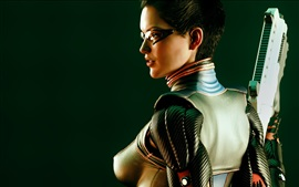 Deus Ex: Human Revolution, girl