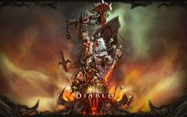 Aperçu fond d'écran Diablo 3, barbare