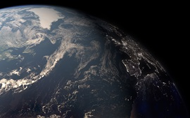 Earth surface, planet, darkness