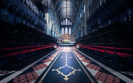 England, cathedral, religion, nave