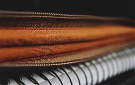 Текстура ткани, молния