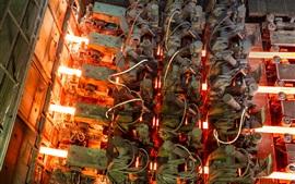 미리보기 배경 화면 열 성형 용 금속, 중장비 제조