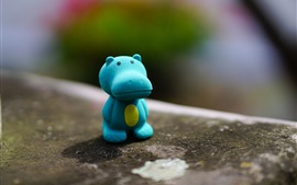 Preview wallpaper Hippopotamus toy