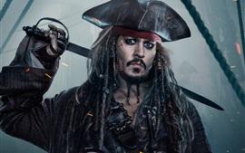 Johnny Depp, Piratas del Caribe 5