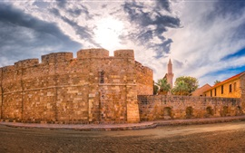 Preview wallpaper Larnaka Medieval Castle, Cyprus