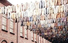 壁紙のプレビュー たくさんの服