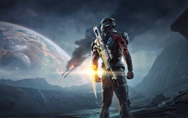 Preview wallpaper Mass Effect: Andromeda, PS4 games