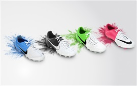 Preview wallpaper Nike colorful shoes collection