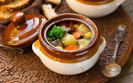 Preview wallpaper Nutritional stew, vegetables