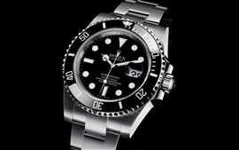 Preview wallpaper Rolex black watch