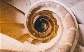 Preview wallpaper Spiral ladders