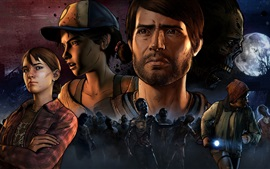 Preview wallpaper The Walking Dead, games, art picture