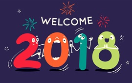 Welcome to New Year of 2018