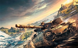 Preview wallpaper World of Tanks, Xbox games