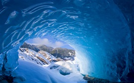 Alaska, Mendenhall Glacier, USA, snow, ice, winter