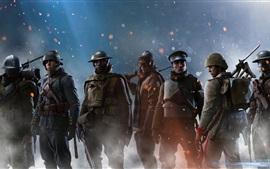 Battlefield 1, soldados