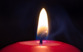 Chandelle, flamme
