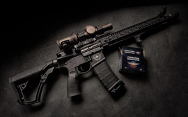 Preview wallpaper Daniel Defense, assault rifle