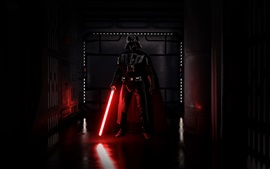 Preview wallpaper Darth Vader, sword, EA games, Star Wars: Battlefront
