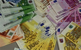 Preview wallpaper Euro, money, currency