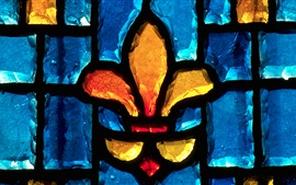 Preview wallpaper Gravelbourg, Saskatchewan, Canada, stained glass