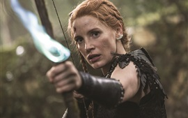 Preview wallpaper Jessica Chastain, The Huntsman: Winter's War