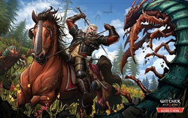 Preview wallpaper The Witcher 3: Wild Hunt, Blood and Wine, game art picture