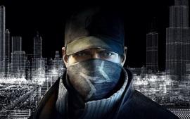 壁紙のプレビュー Ubisoftゲーム、ウォッチ・ドッグス