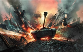 Preview wallpaper War Thunder, PC games, tank