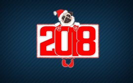 Preview wallpaper 2018 dog year