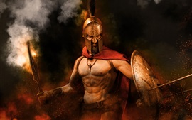 Preview wallpaper 300 Spartans, war, warrior