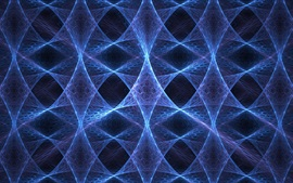Preview wallpaper Abstract fractal, blue colors