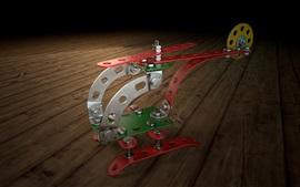 Helicóptero abstracto, diseño