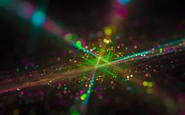 Aperçu fond d'écran Abstraction, maille, cercles de lumière, éblouissement