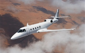 Preview wallpaper Aerospace G150 plane flight