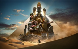 Preview wallpaper Assassin's Creed: Origins, hot game
