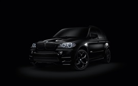 Preview wallpaper BMW X6 black SUV car