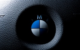 Preview wallpaper BMW logo macro photography