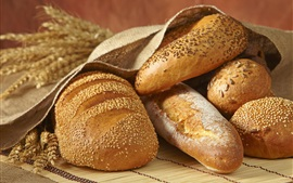 Preview wallpaper Bread, spikelets, food