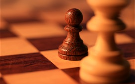 Preview wallpaper Chess, blurry