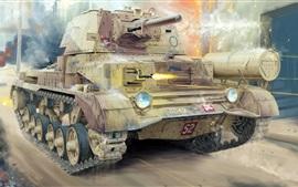 Cruiser Mk.II tank, Britannique
