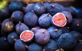 Aperçu fond d'écran Délicieuses figues, fruits
