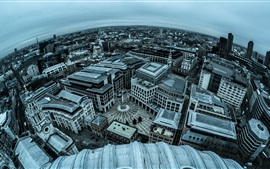 England, London, city panorama photography