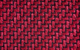 Preview wallpaper Fabric fibers surface, red and black