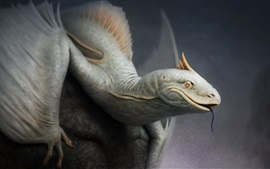 Preview wallpaper Fantasy art, lizard